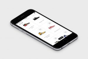 GOAT marketplace phone screenshot