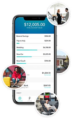 Astra Finance financial goals screenshot