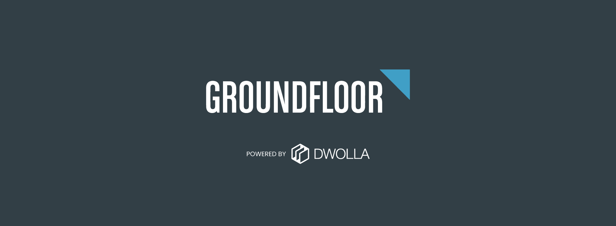 dwolla powers groundfloor