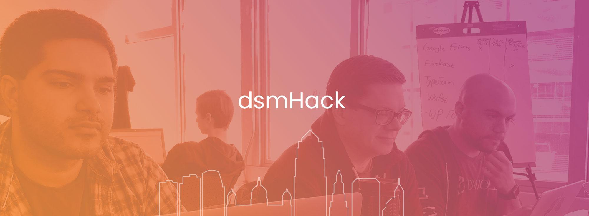 dsmHack volunteering image