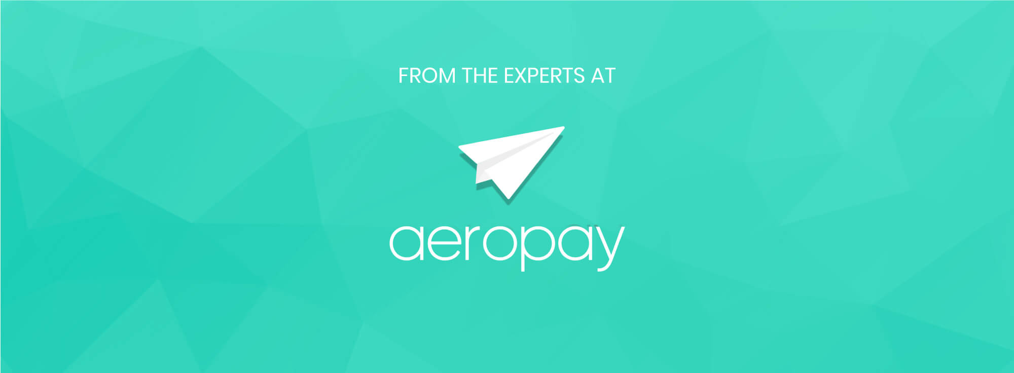 from the experts at aeropay image