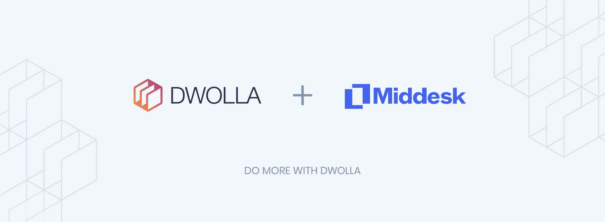 dwolla middesk partnership