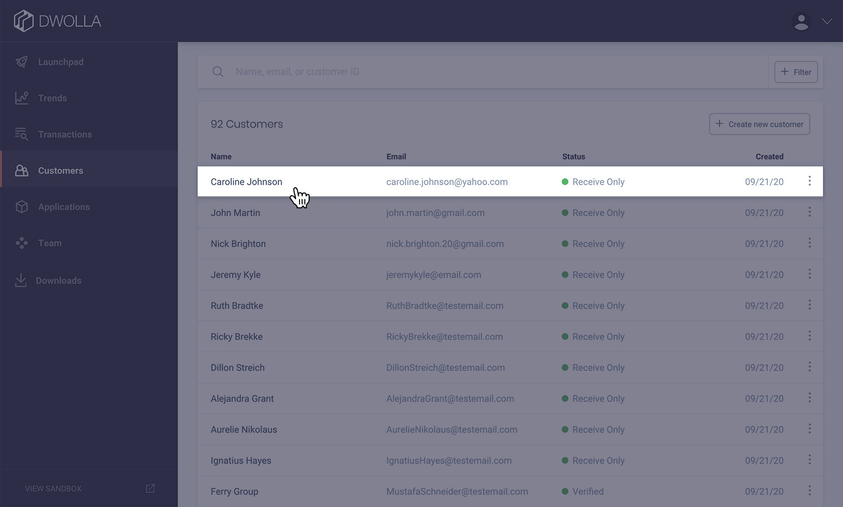 Select the User Graphic